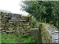 SE0420 : Stile on Ripponden Footpath 62 by Humphrey Bolton