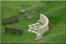 SK3455 : Memorial Wall, Crich by Stephen McKay