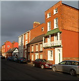 SO5139 : Storeys 4,2 and 3, Castle Street, Hereford by Jaggery