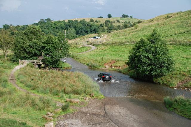 Ford at Bradbourne near Tissington