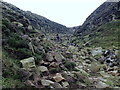 SK1087 : Climb at the head of Grindsbrook Clough by Andrew Hill