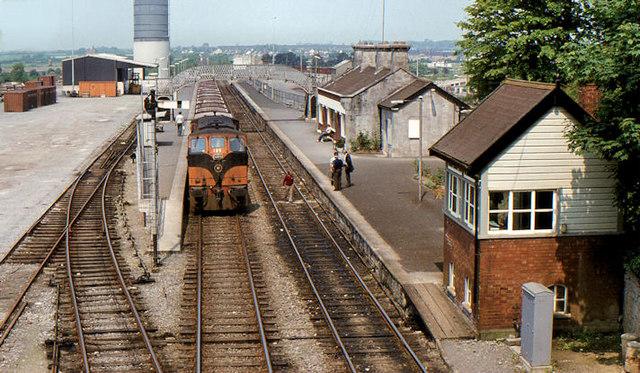 Tullamore station (1982)