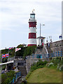 SX4753 : Smeaton's Tower, Plymouth, Devon by Christine Matthews