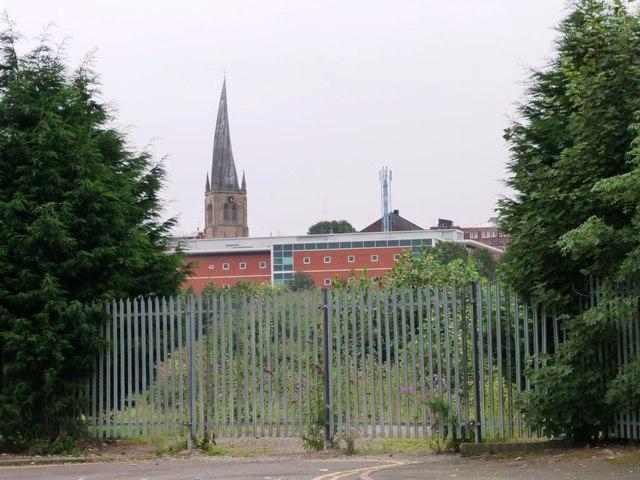 Chesterfield's famous landmark