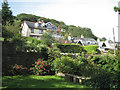 SX9372 : Houses above Torquay Road A379 by Robin Stott