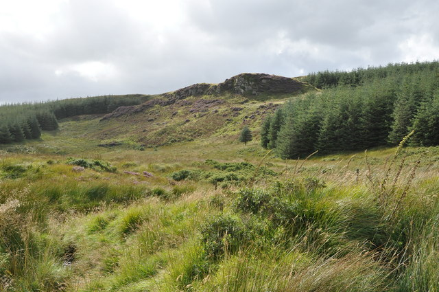 Northwest of Garvalt, Barr Glen, Kintyre