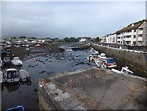 SC2667 : Inner harbour Castletown by Richard Hoare