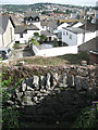 SX9372 : View north across Shaldon from the Homeyards by Robin Stott