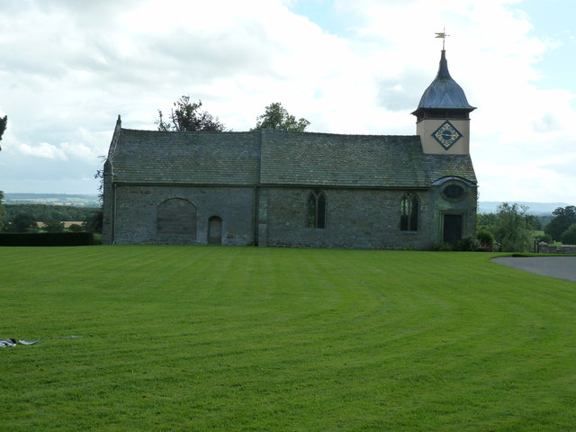 St Michaels Church in the grounds of Croft Castle