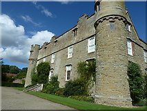 SO4465 : South wall of Croft Castle by Dave Spicer