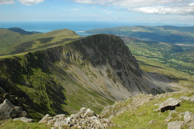 View back to Barmouth from Cadair Idris