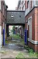 SD7107 : Footbridge, Grecian Mills  by Alan Murray-Rust