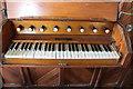 SK8925 : Organ console, St James' church, Skillington by J.Hannan-Briggs