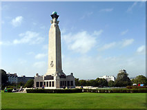 SX4753 : Royal Naval Memorial, The Hoe, Plymouth, Devon by Christine Matthews