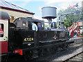 SD7916 : ELR locomotive at Ramsbottom by Stephen Craven