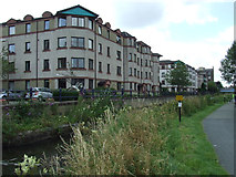 NT2472 : Flats by the Union Canal by Thomas Nugent