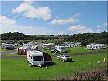 SD7912 : Burrs caravan site by Stephen Craven