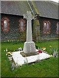 SD1578 : St Luke's Church, Haverigg, War Memorial by Alexander P Kapp