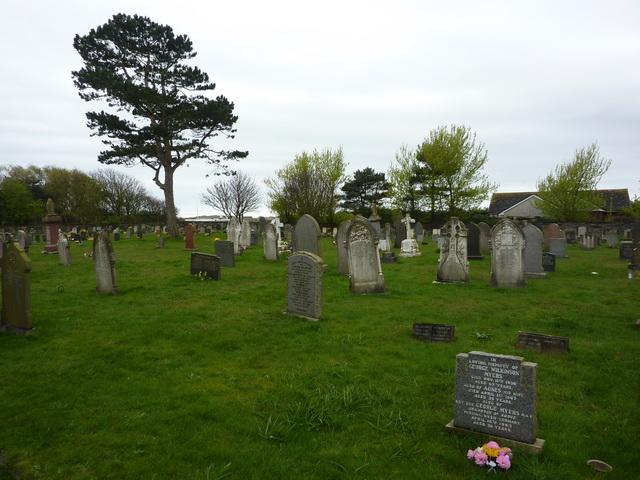 St Luke's Church, Haverigg, Graveyard