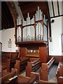 SD1578 : St Luke's Church, Haverigg, Organ by Alexander P Kapp