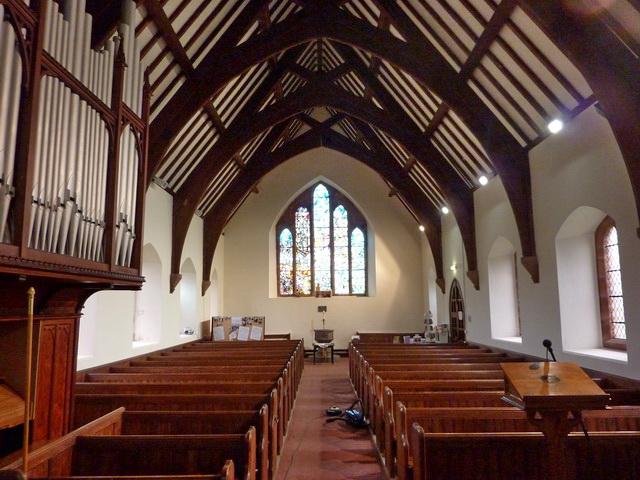 St Luke's Church, Haverigg, Interior