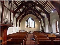 SD1578 : St Luke's Church, Haverigg, Interior by Alexander P Kapp