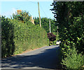 ST5860 : 2012 : Minor road to Bishop Sutton by Maurice Pullin