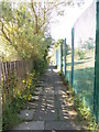 SE1133 : Footpath - Wanstead Crescent by Betty Longbottom