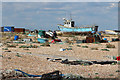 TR0917 : Fishing boat area at Dungeness by Oast House Archive
