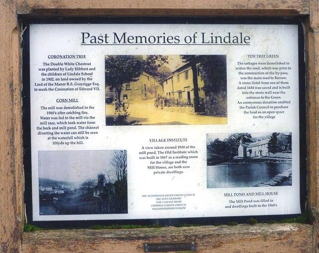 'Past Memories of Lindale'