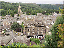 NY3704 : Ambleside from Lower Gale by Rob Burke