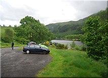 NN5810 : Car park by Loch Lubnaig by N Chadwick