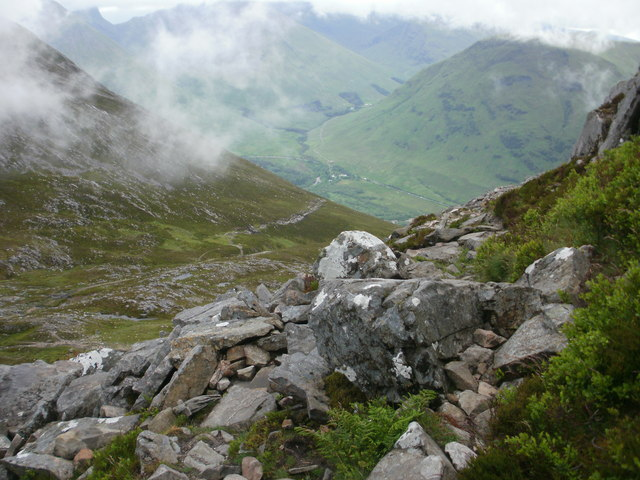 Final ascent of the Pap of Glencoe