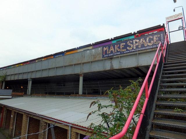 Make Space Studios Newnham Terrace, Lambeth