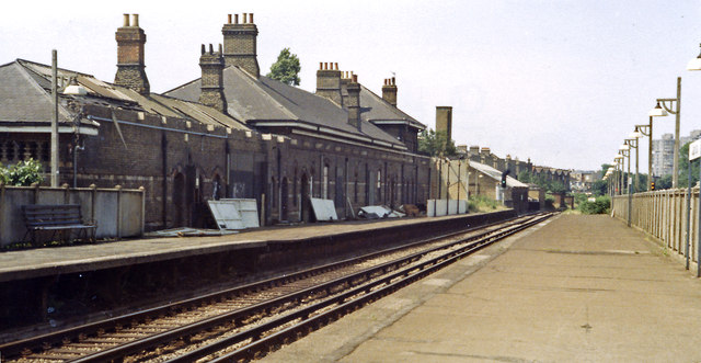 Clapham (later High Street) station, 1984