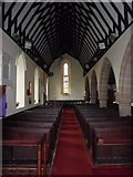 SD0799 : St Peter's Church, Drigg, Interior by Alexander P Kapp