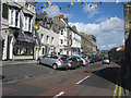 NU1813 : Looking along Fenkle Street, Alnwick by Graham Robson