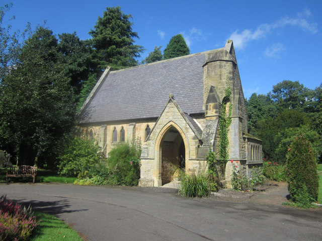 Northern Chapel in Alnwick Cemetery