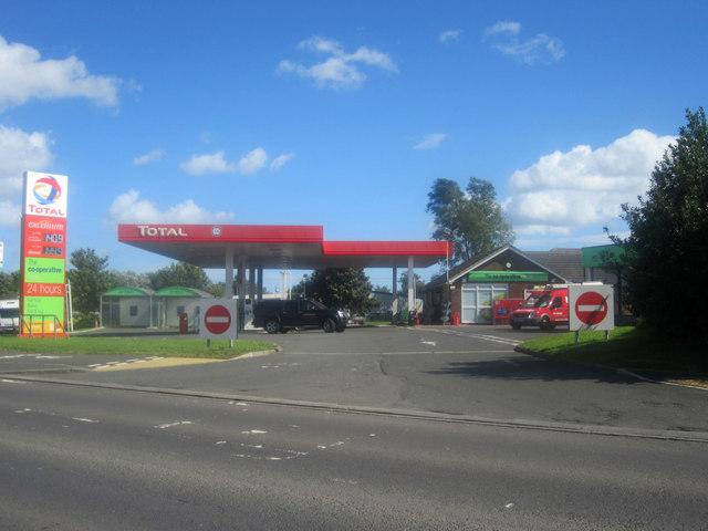 Petrol Filling Station, Alnwick