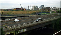 NS5566 : The A814 Clydeside Expressway by Thomas Nugent