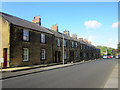 NU1912 : Terraced houses on Waggonway Road, Alnwick by Graham Robson
