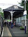 NS5574 : Milngavie railway station by Thomas Nugent