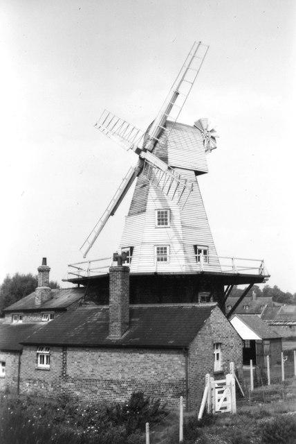 Rye Windmill, 1952
