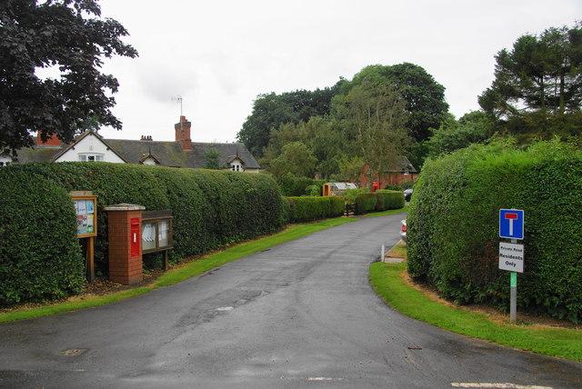 Ingestre village