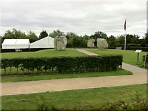 SK1814 : Cloudy day at the National Memorial Arboretum by Andrew Abbott