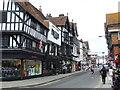 SU1429 : Minster Street, Salisbury by Malc McDonald