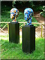 SO8610 : Art in the Garden (8) Painswick Rococo Garden, Gloucestershire by Brian Robert Marshall