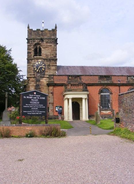 Shareshill Church