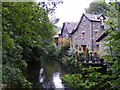 NY3307 : Riverside, South East of Grasmere Church by David Lewis