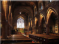 SJ5882 : Nave of All Saints church, Daresbury by Stephen Craven
